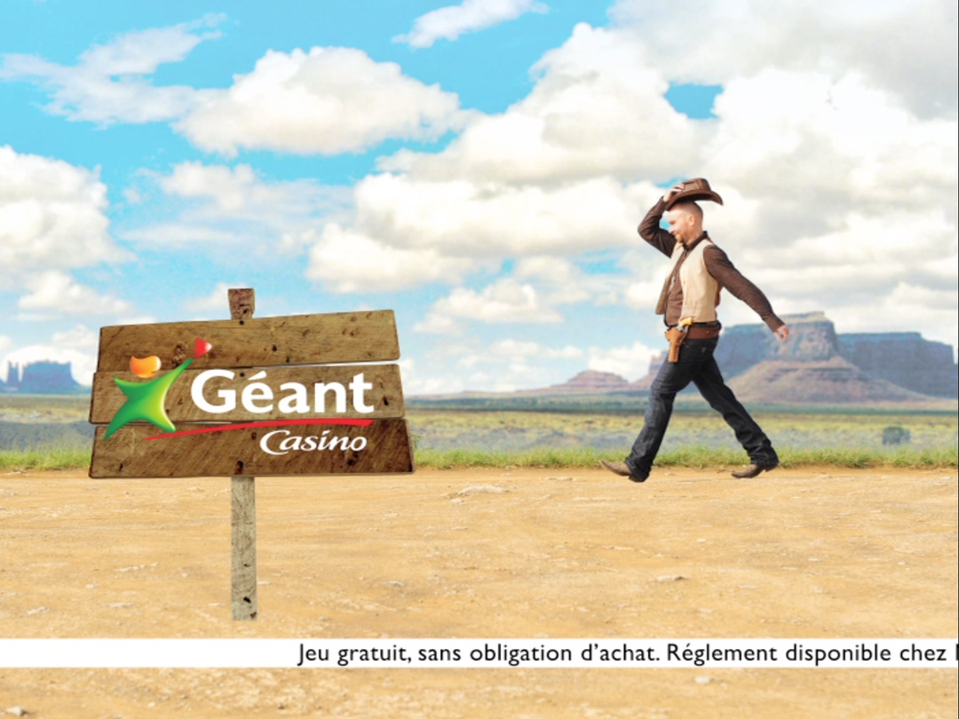 Geant-Casino spot TV