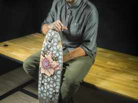 Pilot-PINTOR-Art-project-Gentle-Ink-tatoo-Jonathan-GARCIA-longboard-leger